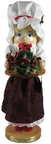 2007 Signed Karla Steinbach Limited Edition Mrs Cratchit Nutcracker From Christmas Carol Series -- Check out this great product.