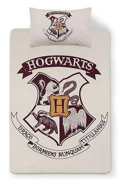 HARRY POTTER HOGWARTS Duvet Reversible Bed Set Primark  DOUBLE  in Home, Furniture & DIY, Bedding, Bed Linens & Sets   eBay!