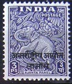 Love this Indian stamp design
