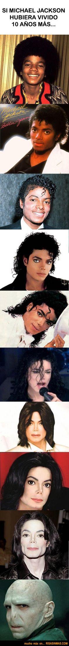 Evolución de Michael Jackson
