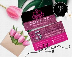 Paparazzi Business Cards,Paparazzi Pink and Gold Business Card, Editable PDF, Diy Printable Digital Files for Professional & Home Printing Gold Business Card, Business Cards, Printable Designs, Printables, Paper Cards, Pink And Gold, Printing, Pdf, Digital
