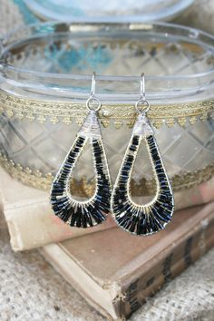TEAR DROP BEAD EARRINGS 10.00 #Page6Boutique #shoppage6 @Page 6 Boutique