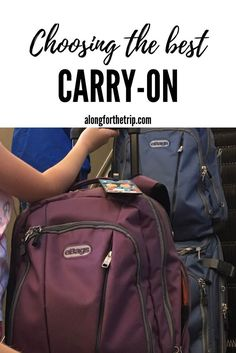 Carry-on luggage is such an important decision, but with so many choices, how do you narrow it down? Well, we've done it for you!