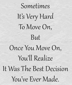 But it still takes longer to get over hurt & betrayal.