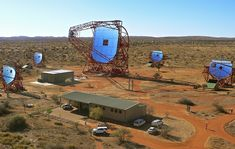 Around 260 scientists of 40 scientific institutes from 13 countries, including Namibia, are involved in the H. project at Farm Göllschau. Things To Know, Telescope, Java, Astronomy, Worlds Largest, Universe, Explore, Scientists, Experiment