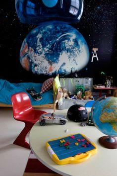 Ideas para una habitación de #niños! El niño que duerma aquí saldrá astronauta seguro!!! #paratorpes #casa #peques #habitacion #decoracion #maternidad