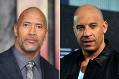 """Getty Images      Dwayne """"The Rock"""" Johnson opened up about his feud with """" Fate of the Furious """" co-star Vin Diesel — after Johnson bl..."""