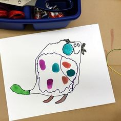 This is a fun way to encourage creative thinking and imagination skills: make an abstract shape on paper with a piece of string. Trace an outline around the string. Look at it carefully for clues and decide what you could turn the shape into. Add more lines, patterns, and color to complete your picture. Preschool Art Activities, Creative Thinking, Abstract Shapes, Outline, Imagination, Encouragement, Patterns, Paper, Instagram Posts