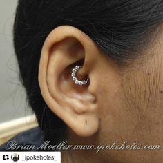 SOLabs PurKlenz — Beautiful piercings by Brian! Thank you for using...