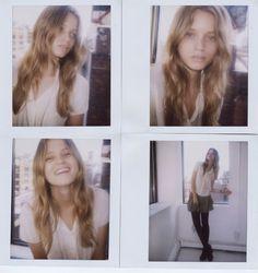 Photo of Australian fashion model Abbey Lee Kershaw. Fashion Models, Fashion Beauty, Model Polaroids, New York Model Management, Abbey Lee Kershaw, Gap Teeth, Famous Models, Australian Fashion, Model Photos