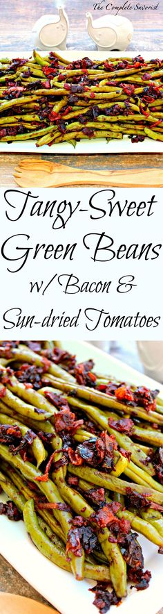 Roasted Green Beans and Scallions — Punchfork | [yum] | Pinterest ...