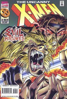 Uncanny X-Men # 326 by Joe Madureira & Tim Townsend