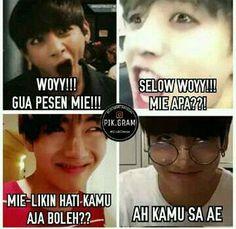 Funny Baby Memes, Memes Funny Faces, Funny Babies, Bts Tickets, Funny Tweets Twitter, Cartoon Jokes, Bts Korea, Funny Moments, Taekook