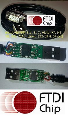 Parallel Serial and PS 2 116848: Dtech 6Ft Usb To Rs232 Db9 Db25