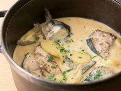 さばのクリーム煮レシピ 講師は谷 昇さん|魚介のうまみたっぷりのクリーム仕立ての一品です。フランスでは「コトリヤード」と呼ばれる料理です。