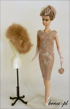 bena-pl for FR Victoire Roux, FR East 59th, Silkstone Vintage Barbie OOAK outfit   eBay