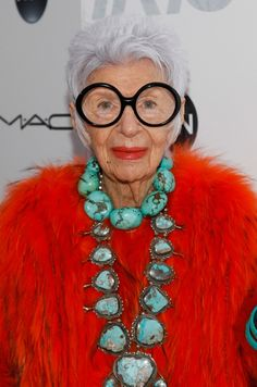 Iris Apfel's crucial career advice for working in fashion: And how she built her own career.