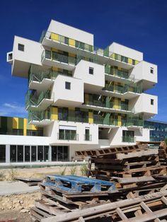 Les Nids. KOZ architectes & PLAN01. Courbevoie, France