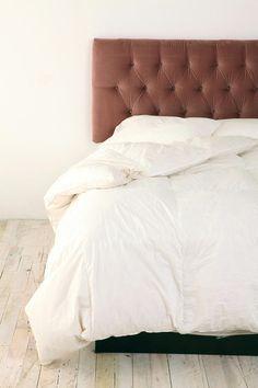 Tufted velvet headboard $449 #bed #bedroom #furniture