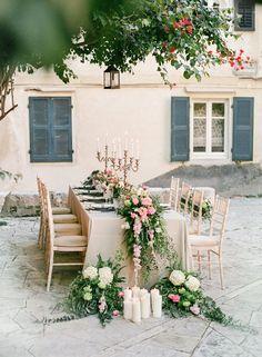 Colourful Autumn Wedding Ideas on Corfu via Magnolia Rouge