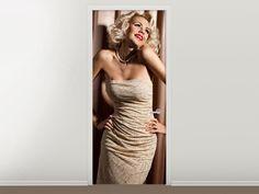 Tür #Tapete Elegante Schönheit