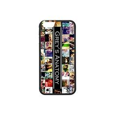 DreamOffice Custom Case for iPhone 6 and iPhone 6s,Grey's Anatomy iPhone 6/6s Hard Rubber Sides Slim Case,Light weight,Daurable-151 -- Awesome products selected by Anna Churchill