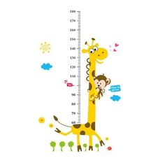 Free printable growth chart for kids up to 140 cm designed by ...