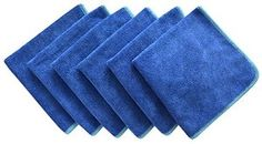 """Sinland 12""""x12"""" All-purpose Microfiber Cleaning Cloths Wiping Dusting Rags - Visit to see more options"""