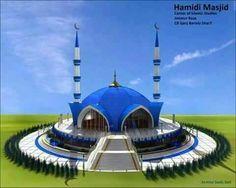 Mosque Architecture, Art And Architecture, Islamic World, Islamic Art, World's Most Beautiful, Beautiful Places, Beautiful Mosques, Mecca, Sufi