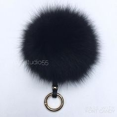 Black #foxfurball #foxfurpompom #foxbagcharm #furpompom #furpompomkeychain #furbagcharm #trendy #trending #trends #bloggerfashion #fashiongram #musthaveaccessories
