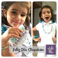 Celebramos este día  con esta pichurris hermosa que complacimos hoy. Cumpliendo su sueño de tener un collar. Feliz día a los Chiquit@s de la casa que alegran nuestros días!! #DiaDelNiño #FelizDia #felicidad #Amor #family #Love #ChikilukyLove #happiness #Sunday #Domingo #sonrisas #smiling #lookchikiluky #accessories #ootd #Kids #Chikilindas #hermosas #GirlThing #Girls #LittleGirls #Style
