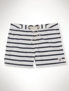 4½ Mainship Swim Trunk - Swimwear  Men - RalphLauren.com $89.50 #swim #stripes