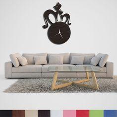 Handmade, Wooden, Deoratif Cats Patterned Wall Clock Outdoor Sofa, Outdoor Furniture, Outdoor Decor, Patterned Wall, Cat Pattern, Wall Patterns, Handmade Wooden, Decoration, Clock