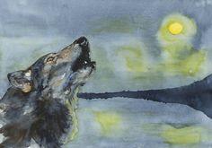 Wolf Lake - Limited Edition Print