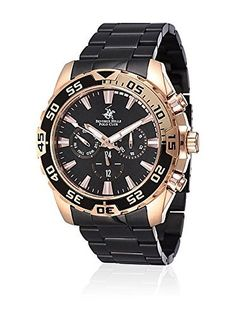 Beverly Hills Polo Club Reloj de cuarzo Man Bh514-04B 45 mm en Amazon BuyVIP
