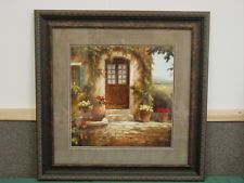 front door wood framed art print retired home interiors gifts last one