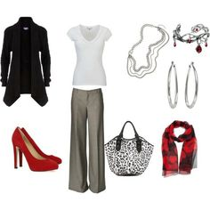 Great.  Creating outfits on Polyvore.