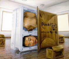 Tetsuya Ishida (1973-2005) - 1999, duck