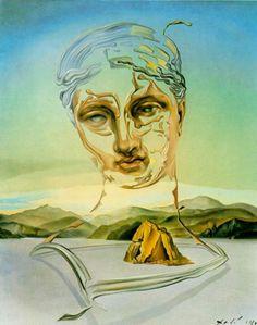 Salvador Dali.  El Tiempo y El Espacio.