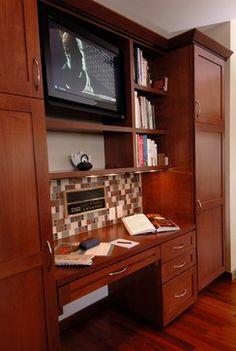 Kitchen desk.