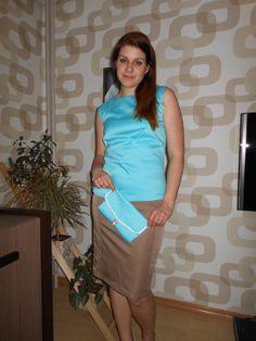spódniczka i bluzeczka oraz torebka