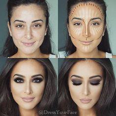 Resalta tus facciones con el contour adecuado. #VoranaTis #PasoAPaso #Tutorial #makeupideas