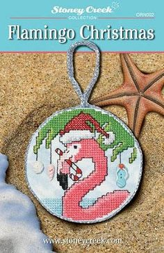 Flamingo Christmas - Cross Stitch Pattern