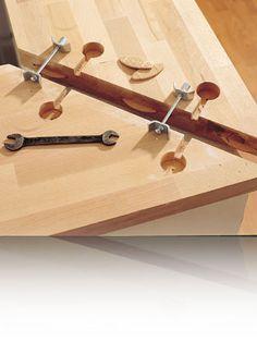 Giunti filettati per legno - Ferramenta - LABORATORIO Fai da Te. Brico, Fai da te.