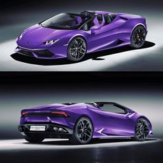 Magic Carpet Auto Transport This is how we Rock. #LGMSports move it with http://LGMSports.com Lamborghini Huracan Spyder in purple