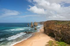 The highlight of the great ocean Road on the southern coast of Australia is the 12 apostles.  Although all 12 are no longer standing  it is an impressive sight.  Book a ride in a chopper for a different perspective of this amazing coastline.  #Australia #travel #travellife #travelling #travelingram #travelgram #instatravel #beach #scenic #cliff #12apostles #greatoceanroad #weekend  #downunder by thatlondon_guy