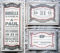 Letters + cards / Goncharows Coaster Wedding Invites — Designspiration
