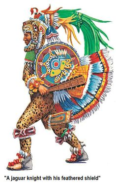 When the Spanish arrived in the Americas, the dominant power in Mexico was the Aztec Empire, founded by the Mexica people. The Mexica arrived in central Mexico. Arte Latina, Aztec Tattoo Designs, Aztec Empire, Ancient Aztecs, Aztec Culture, Aztec Warrior, Inka, Aztec Art, Chicano Art