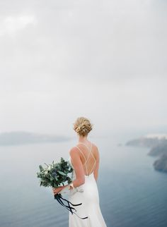 Intimate Bohemian Wedding in Santorini Santorini Wedding, Intimate Weddings, Destination Wedding Photographer, Floral Design, Bohemian, Fine Art, Dresses, Fashion, Wedding Ideas