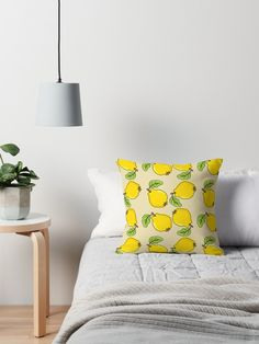 Quince Pattern Pillow